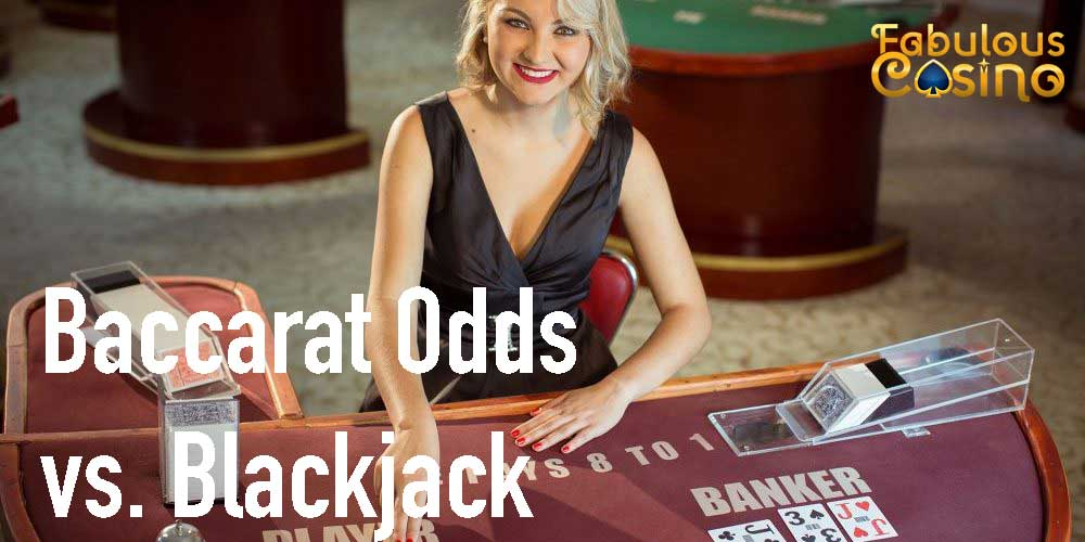 Baccarat Has Better Odds Than Blackjack