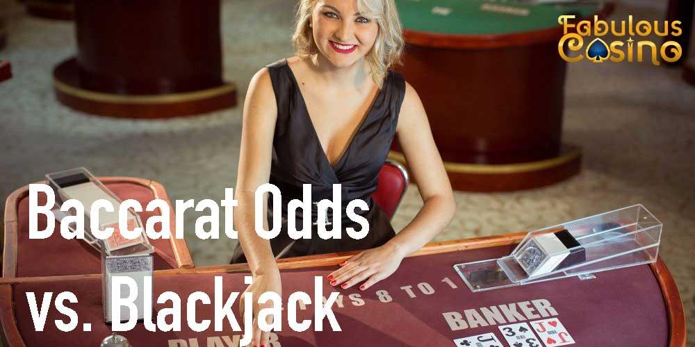 Baccarat Has Better Odds Than Blackjack