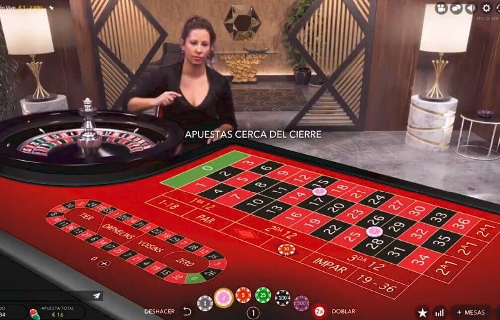 mejor casino en línea para la ruleta